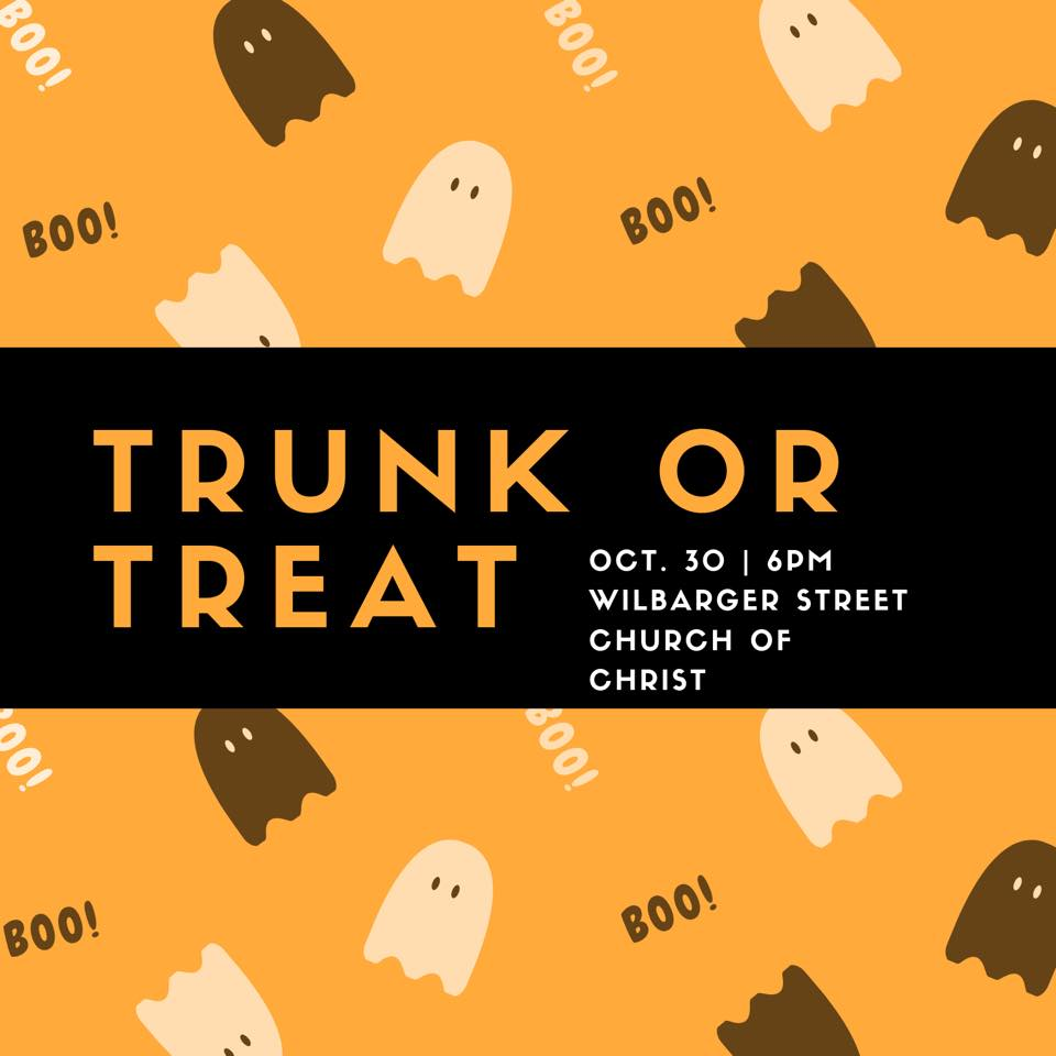Wilb Street Church of Christ Trunk or Treat